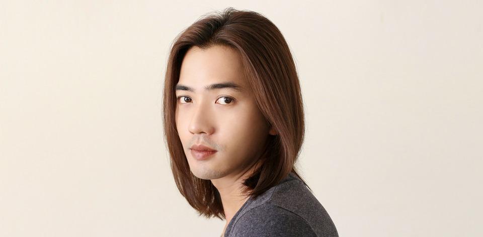 perruque masculin